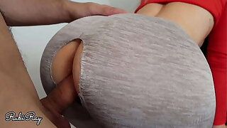 Fuck Me Hard In My Ripped Leggings And Cum On My Juicy Tight Pussy