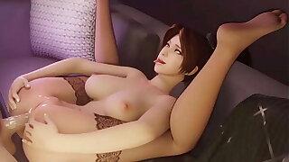 KOF Mai Shiranui Ahegao Anal Fucking (HentaiSpark.com)