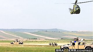 Brazzers - Big Wet Butts -  Military Loot scene starring Devon Lee plus James Deen