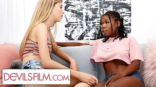 Haley Reed is Comforted Off out of one's mind The brush Sexy Lesbian Lam out of here Friend