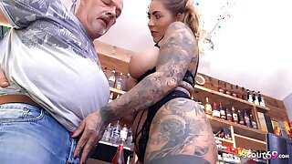 Age-old Challenge EGON SEDUCES GERMAN CURVY TEEN MIA BLOW FOR A ROUGH FUCK